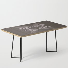 Art Nouveau Paisley Coffee Table