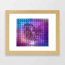 NV: Nakai: patterned Framed Art Print