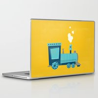 train Laptop & iPad Skins featuring Train by KatieDaugherty