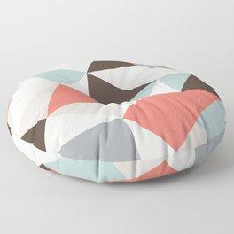 Mod Hues Tris Floor Pillow