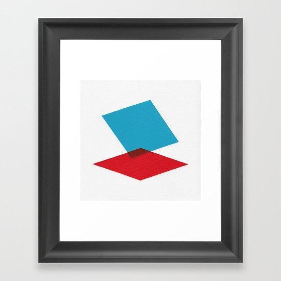 Anaglyph Framed Art Print