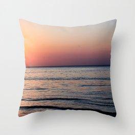 Sound Beach Throw Pillow