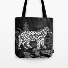 Forest Panther Tote Bag
