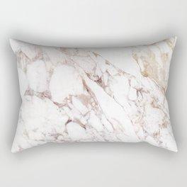 White Onyx Marble Rectangular Pillow