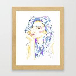 Miranda Framed Art Print