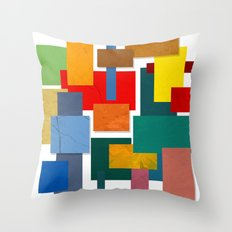 Abstract #338 Throw Pillow