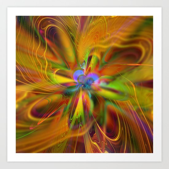 ABC / Abstract Butterfly Collection / 4 Art Print
