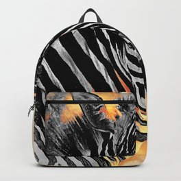 zebra #zebra #animals Backpack