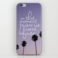 the perks of being a wallflower iPhone & iPod Skins featuring the perks of being a wallflower by Hannah