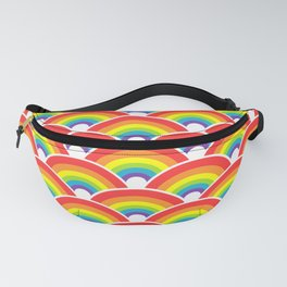 Rainbow Pattern Fanny Pack