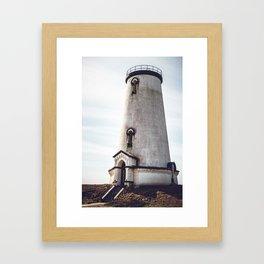 California Lighthouse Framed Art Print