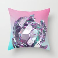 bucky Throw Pillows featuring Bucky II by manso