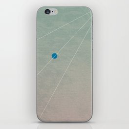 you can't connect the dots looking forward iPhone Skin