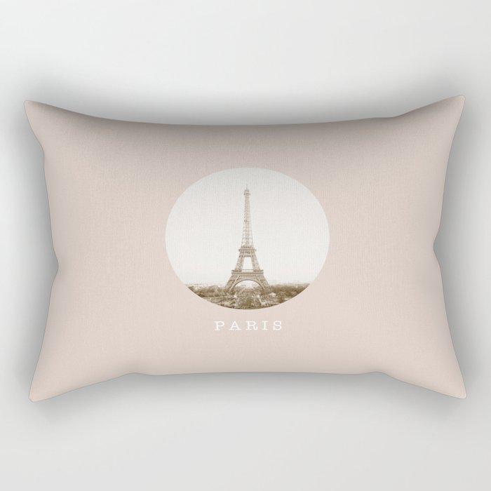 PARIS / Eiffel Tower Rectangular Pillow
