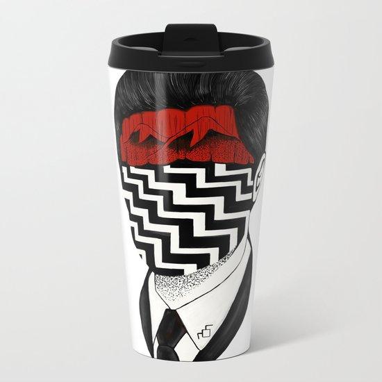 Twin Peaks Metal Travel Mug