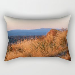Sunset Over Albuquerque 1 Rectangular Pillow