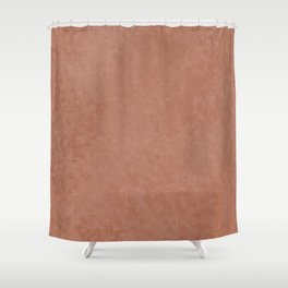 Sherwin Williams Cavern Clay Liquid Hues Illustration Shower Curtain
