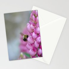 Buzzin' Round the Pink Stationery Cards