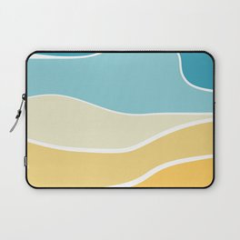 Beach day Laptop Sleeve