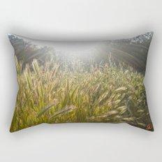 Wheat and poppies Rectangular Pillow