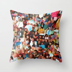 The Spectacle Throw Pillow