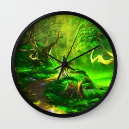 coachman Wall Clock