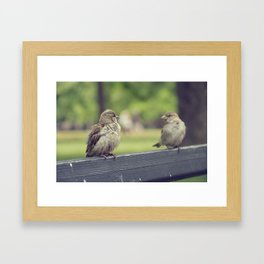 Two is better than one Framed Art Print