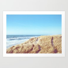 WIDE AND FREE Art Print