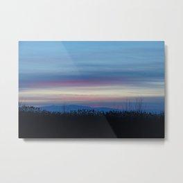 streaky sunset Metal Print