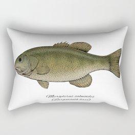 Largemouth bass Rectangular Pillow