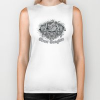 gangster Biker Tanks featuring Street Gangster by MaNia Creations