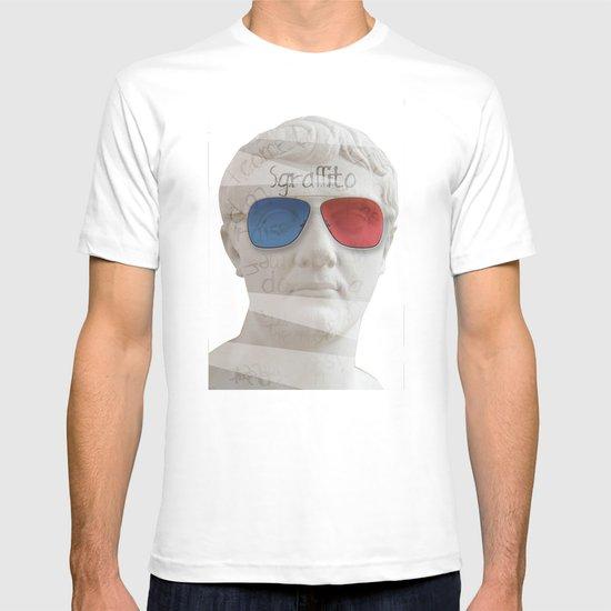 scratch 3D T-shirt