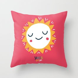 Yes & Yes Yes 004 Sun Throw Pillow