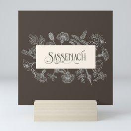 Sassenach in Sepia Mini Art Print