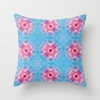 diamonds Throw Pillows featuring Diamonds by ARTDROID
