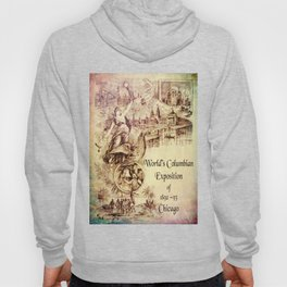 Vintage Columbian Exposition Souvenir Artwork Hoody