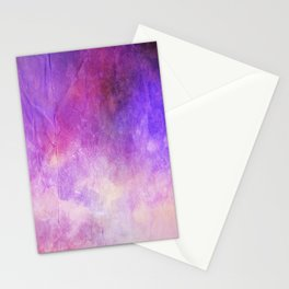 Crumpled Paper Textures Colorful P 726 Stationery Cards