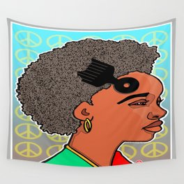 RLOVEUTIONARY FROS Wall Tapestry