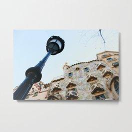 Casa Batlló Metal Print
