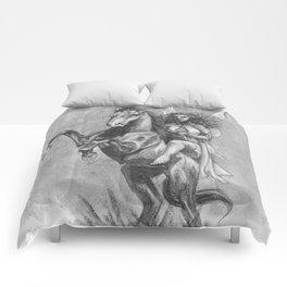 Fairy Queen on her Horse Comforters
