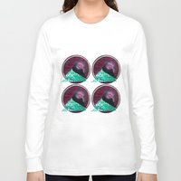 mars Long Sleeve T-shirts featuring Mars by Hannah Melby