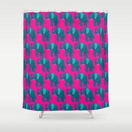 Elephantasy Shower Curtain