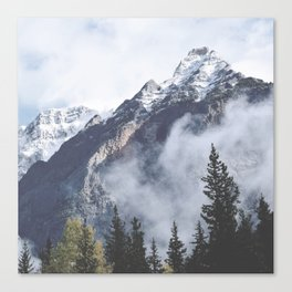 Mount Wanderlust Canvas Print