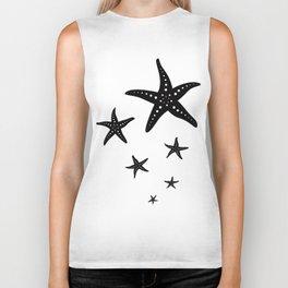 Minimal Starfishes Biker Tank