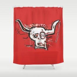 Cabra Homage to Basquiat Shower Curtain