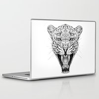 leopard Laptop & iPad Skins featuring Leopard by Libby Watkins Illustration