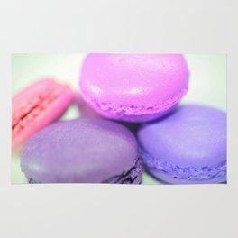 macaroons pink purple  Rug