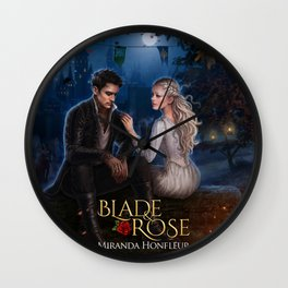 Rielle & Jon* Wall Clock