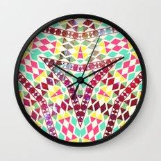 Neon Bible Wall Clock