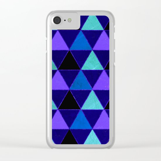 Abstract #471 Clear iPhone Case